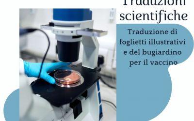 Traduzioni scientifiche: l'importanza della specializzazione in campo scientifico