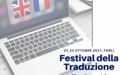 """Festival della Traduzione a Forlì, 21-23 ottobre: """"Con altre parole"""""""